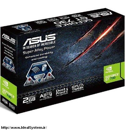 ASUS GT730-2GD3 Graphics Card